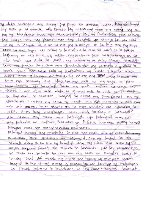 Lumad Letter Page 2