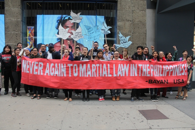 never again to martial law